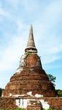Pagode antigo de Ayutthaya Fotografia de Stock