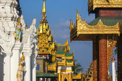 Pagode antigo em Myanmar Imagens de Stock