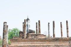 Pagode antigo no parque histórico de Sukhothai, Tailândia/Sukhothai Foto de Stock Royalty Free