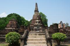 Pagode antigo no parque histórico de Sukhothai, Tailândia/Sukhothai Imagem de Stock Royalty Free