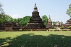 Pagode antigo no parque histórico de Sukhothai, Tailândia/Sukhothai Fotos de Stock