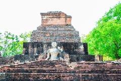 Pagode antigo no parque histórico de Sukhothai, Tailândia/Sukhothai Fotografia de Stock Royalty Free
