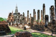 Pagode antigo no parque histórico de Sukhothai, Tailândia/Sukhothai Imagem de Stock