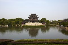 Pagode antigo Suzhou China de Ruigang Fotos de Stock