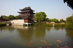 Pagode antigo Suzhou China de Ruigang Imagens de Stock Royalty Free
