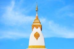Pagode auf Hintergrund des blauen Himmels Lizenzfreie Stockfotos