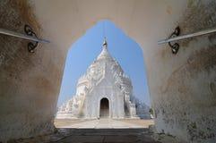 Pagode auf Myanmar Stockfotografie
