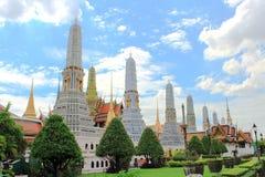 Pagode azul em Wat Phra Kaew Imagens de Stock Royalty Free