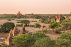 Pagode in Bagan Stockbild