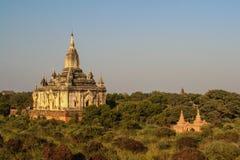 Pagode в Bagan стоковая фотография rf