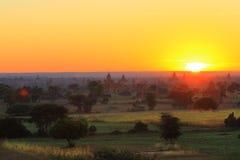 Pagode in Bagan Stock Afbeeldingen