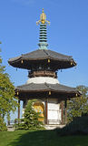 Pagode in Battersea-Park, Londen, Engeland Royalty-vrije Stock Foto