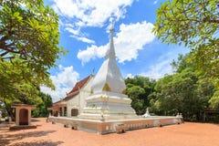 Pagode bei Phra das Si-Lied Rak-Tempel, Loei, Thailand Stockbild