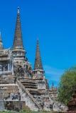 Pagode bei Wat Phra Si Sanphet, Ayutthaya Thailand Lizenzfreie Stockfotos