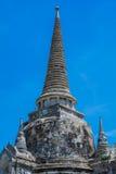 Pagode bei Wat Phra Si Sanphet, Ayutthaya Thailand Lizenzfreie Stockbilder