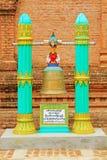 Pagode Bell, Bagan Archaeological Zone, Myanmar GUs Byauk Gyi Stockbild