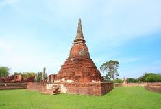 Pagode bij de Tempel van Wat Mahatart Stock Afbeelding