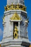 Pagode bij het doen leunen van de tempel van Boedha (Wat Pho) Stock Fotografie