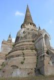 Pagode bij Watprasrisanpet-Tempel in Thaise Ayudhaya, Royalty-vrije Stock Fotografie