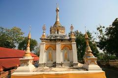 Pagode branco Tailândia Imagem de Stock