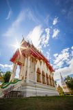 Pagode Chedi Luang, Sonnenaufgang bei Wat Chedi Luang Temple mit Wolke Stockfoto