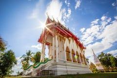 Pagode Chedi Luang, Sonnenaufgang bei Wat Chedi Luang Temple mit Wolke Stockbilder