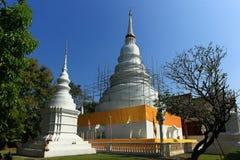 Pagode in Chiang Mai Stockbilder