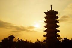 Pagode chinês Imagens de Stock