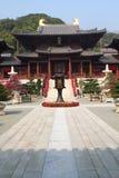 Pagode chinês do templo em Hong Kong Imagens de Stock