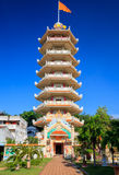 Pagode chinês em Hatyai, Songkhla, Tailândia Imagem de Stock