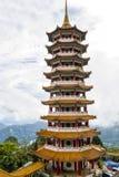 Pagode Chin Swee Caves Temple, montanhas de Genting, Pahang, Malásia Imagens de Stock