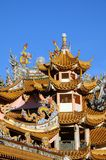 Pagode in Chinese tempel Royalty-vrije Stock Afbeelding