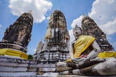 Pagode con l'immagine di Buddha Immagini Stock Libere da Diritti