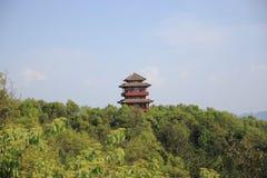 Pagode da opinião mansan de Tien Imagens de Stock