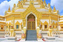 Pagode da relíquia do dente da Buda, Yangon, Myanmar Imagens de Stock