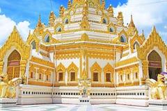 Pagode da relíquia do dente da Buda, Yangon, Myanmar Fotos de Stock
