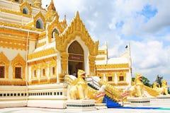 Pagode da relíquia do dente da Buda, Yangon, Myanmar Fotos de Stock Royalty Free