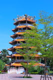 pagode de 7 andares Fotografia de Stock Royalty Free
