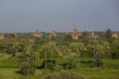 Pagode de Bagan em Myanmar fotos de stock royalty free