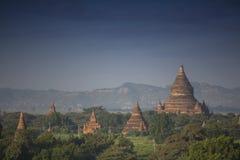 Pagode de Bagan em Myanmar imagens de stock royalty free