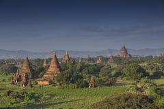 Pagode de Bagan em Myanmar fotografia de stock