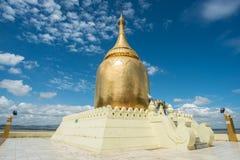 Pagode de Bupaya de Bagan, Myanmar fotografia de stock royalty free