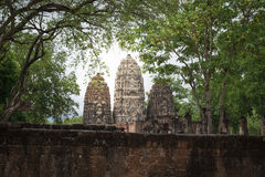 Pagode de Camboja no templo Imagem de Stock