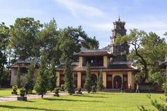 Pagode de Celestial Lady na matiz, Vietname foto de stock