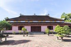Pagode de Celestial Lady na matiz, Vietname imagem de stock