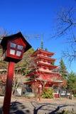 Pagode de Chureito em Fujiyoshida, Japão fotografia de stock