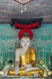 Pagode de Daw do papo de Shwe imagem de stock royalty free