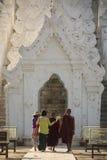 Pagode de Hsinbyume - Mingun - Myanmar Imagem de Stock
