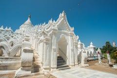 Pagode de Hsinbyume Taj Mahal de Myanmar imagem de stock royalty free