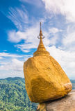Pagode de Kyaikhtiyo em Myanmar Foto de Stock Royalty Free